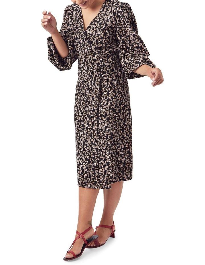 London Wrap Midi Dress image 6