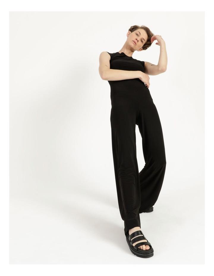 Sleeveless Jumpsuit Black image 1