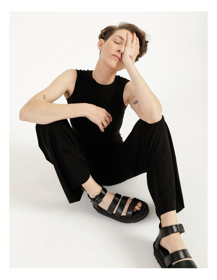 Sleeveless Jumpsuit Black image 2
