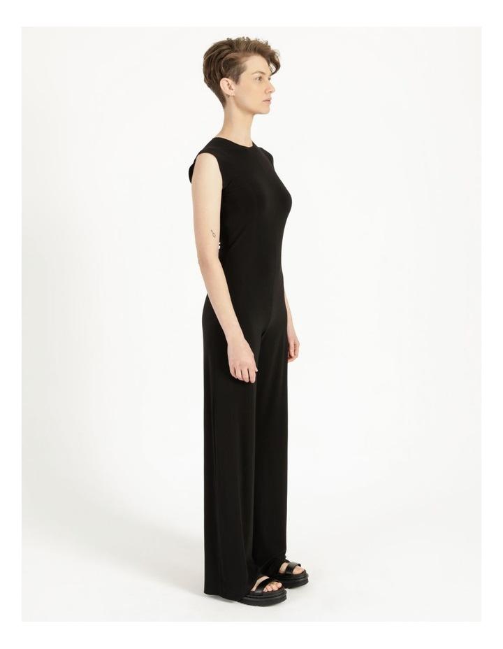 Sleeveless Jumpsuit Black image 3