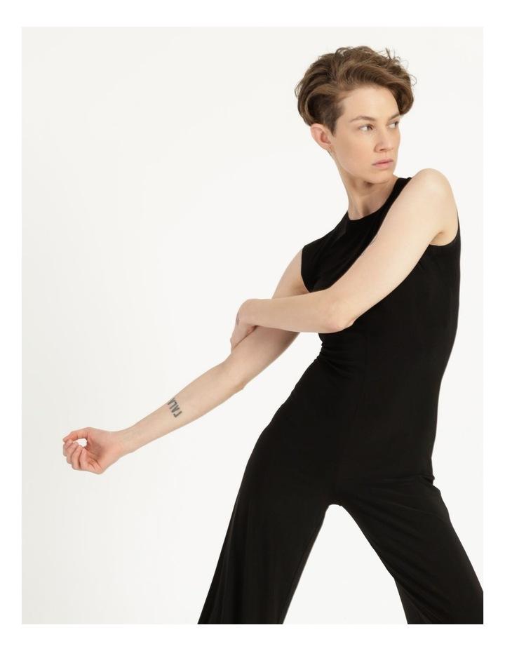Sleeveless Jumpsuit Black image 4