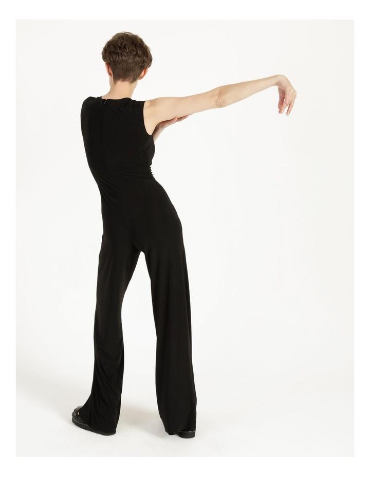 Sleeveless Jumpsuit Black image 5