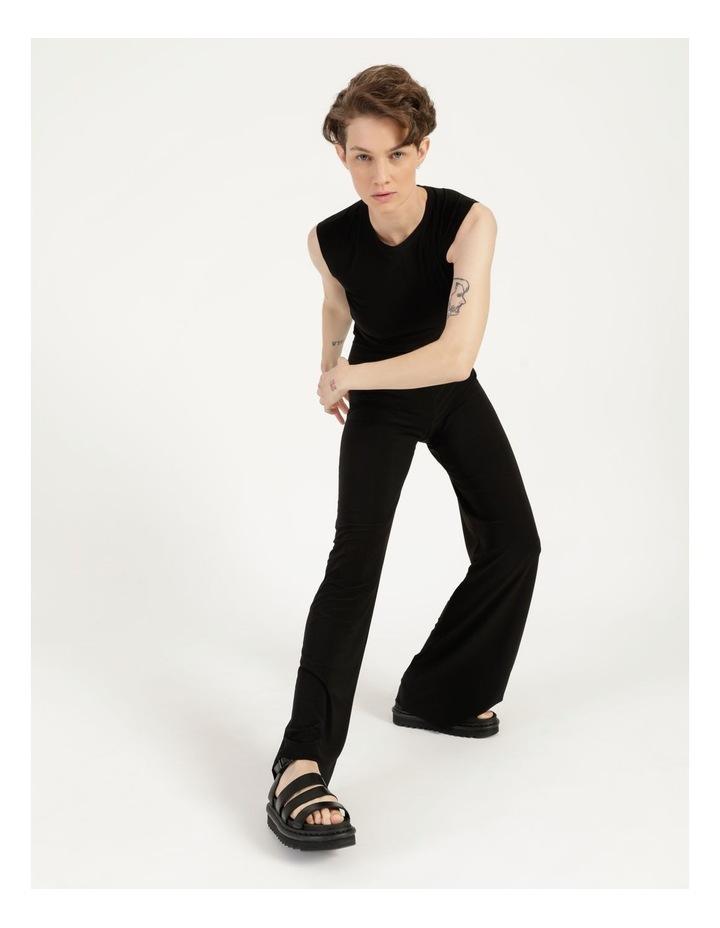Sleeveless Jumpsuit Black image 6