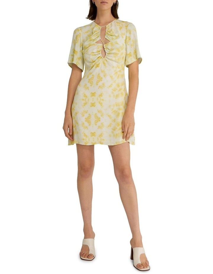 Ring-Out Tee Dress Tie-Dye Yellow image 1