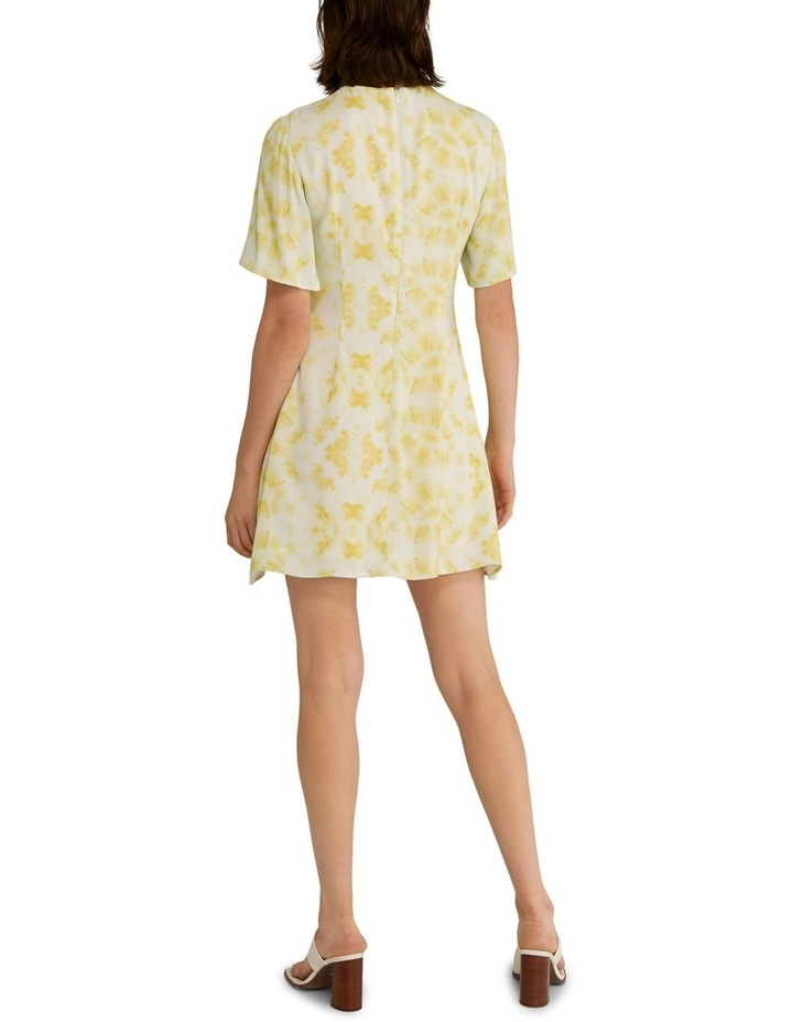 Ring-Out Tee Dress Tie-Dye Yellow image 2
