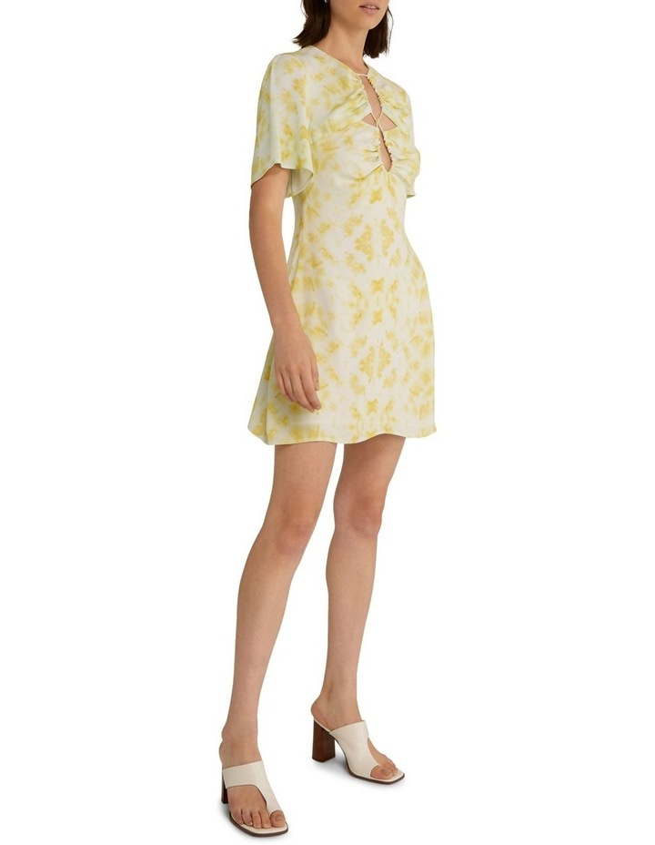 Ring-Out Tee Dress Tie-Dye Yellow image 3