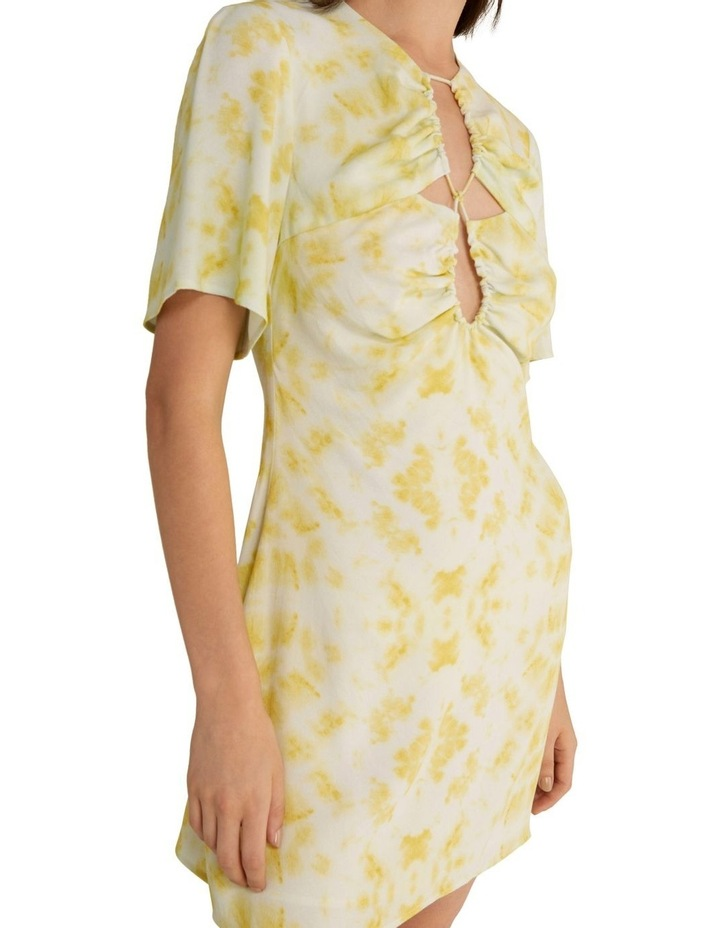 Ring-Out Tee Dress Tie-Dye Yellow image 4