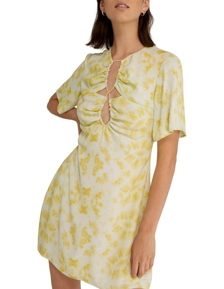 Ring-Out Tee Dress Tie-Dye Yellow image 5