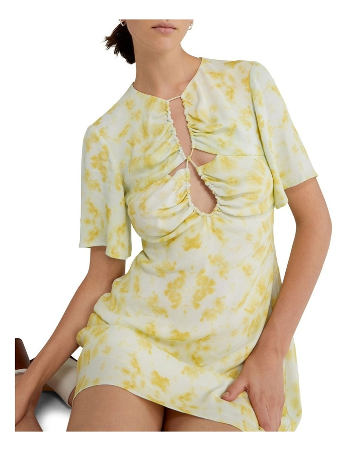 Ring-Out Tee Dress Tie-Dye Yellow image 6