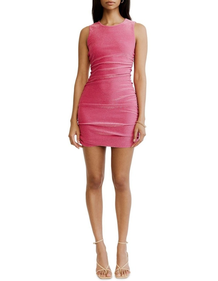 Gather Up Tank Dress Pink image 1