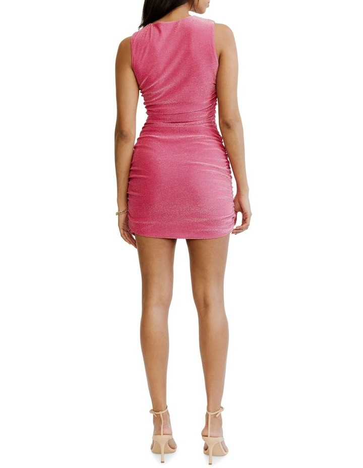Gather Up Tank Dress Pink image 2