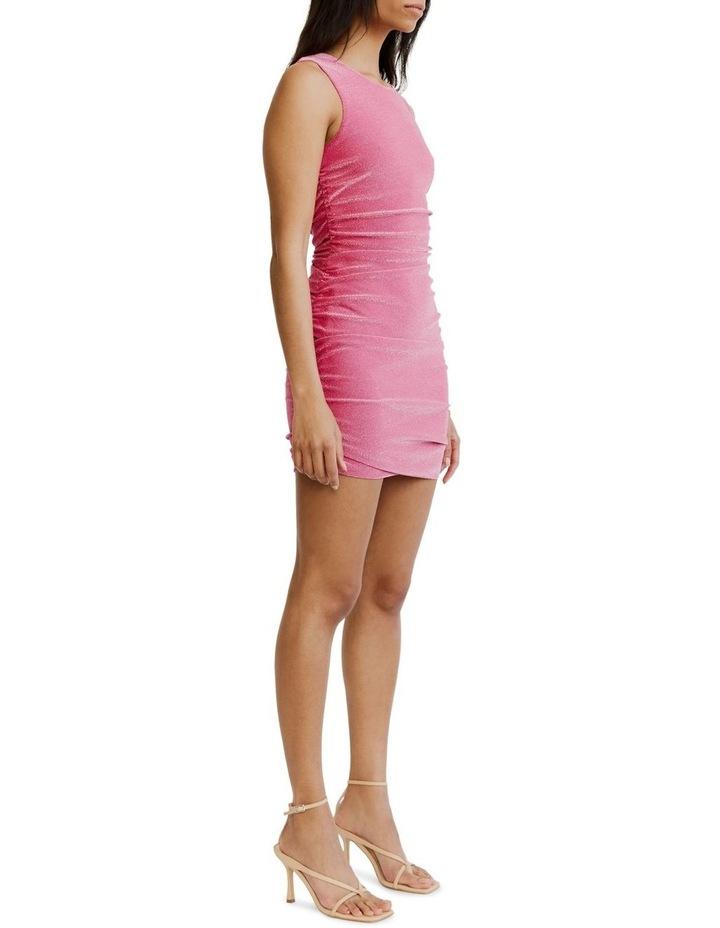Gather Up Tank Dress Pink image 3