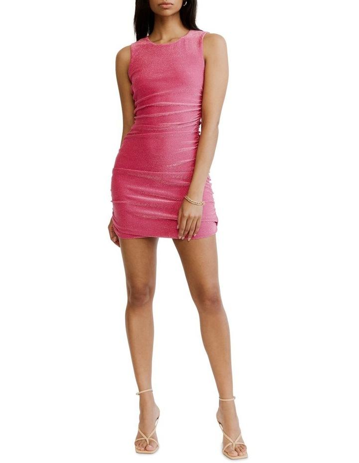 Gather Up Tank Dress Pink image 4