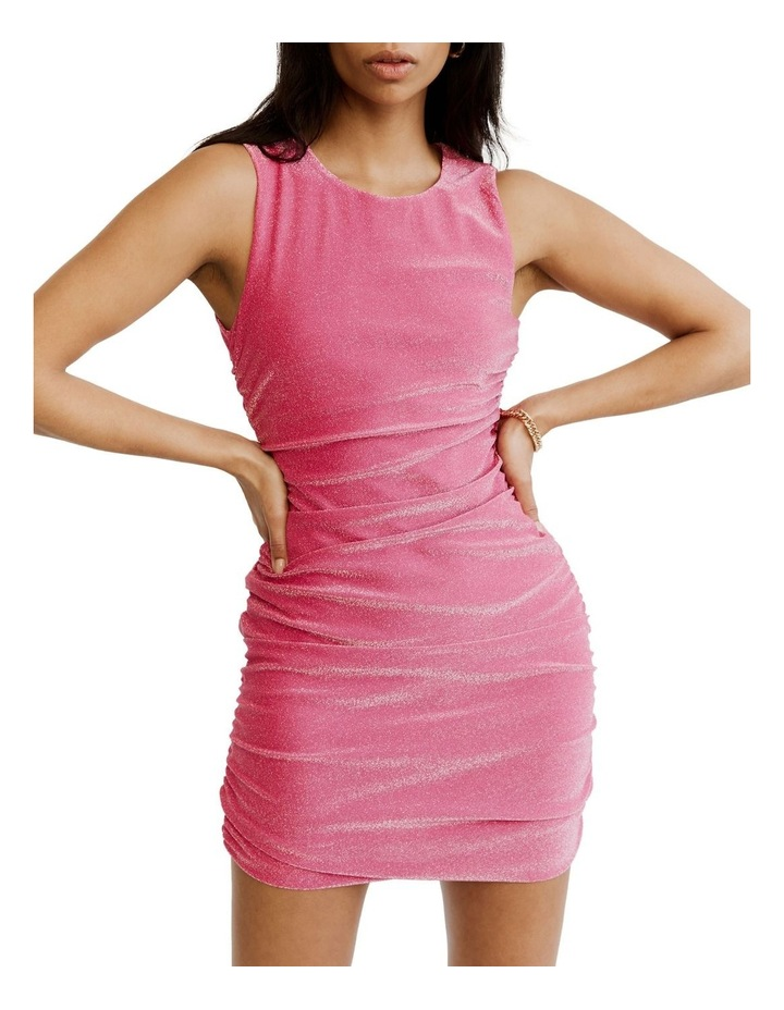 Gather Up Tank Dress Pink image 5