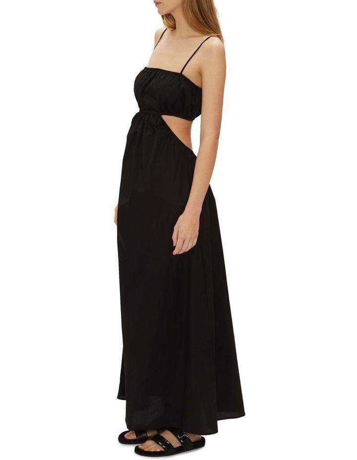 Dream Weaver Maxi Dress Black image 2
