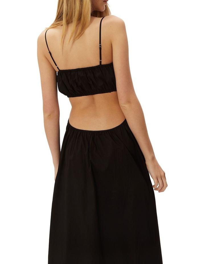 Dream Weaver Maxi Dress Black image 3