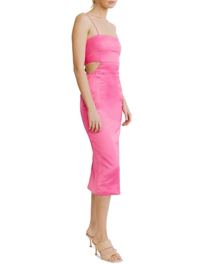 Peek Through Midi Fuschia Pink image 3