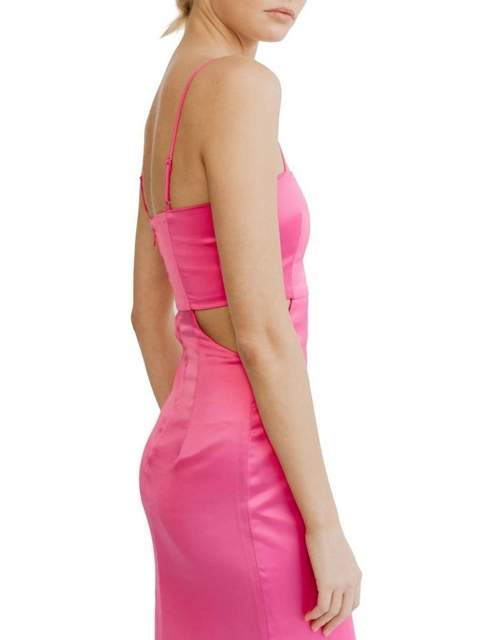 Peek Through Midi Fuschia Pink image 4