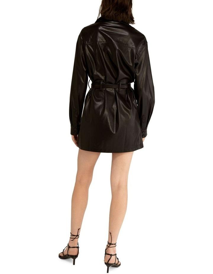 Slick Rick Pu Shirt Dress image 2