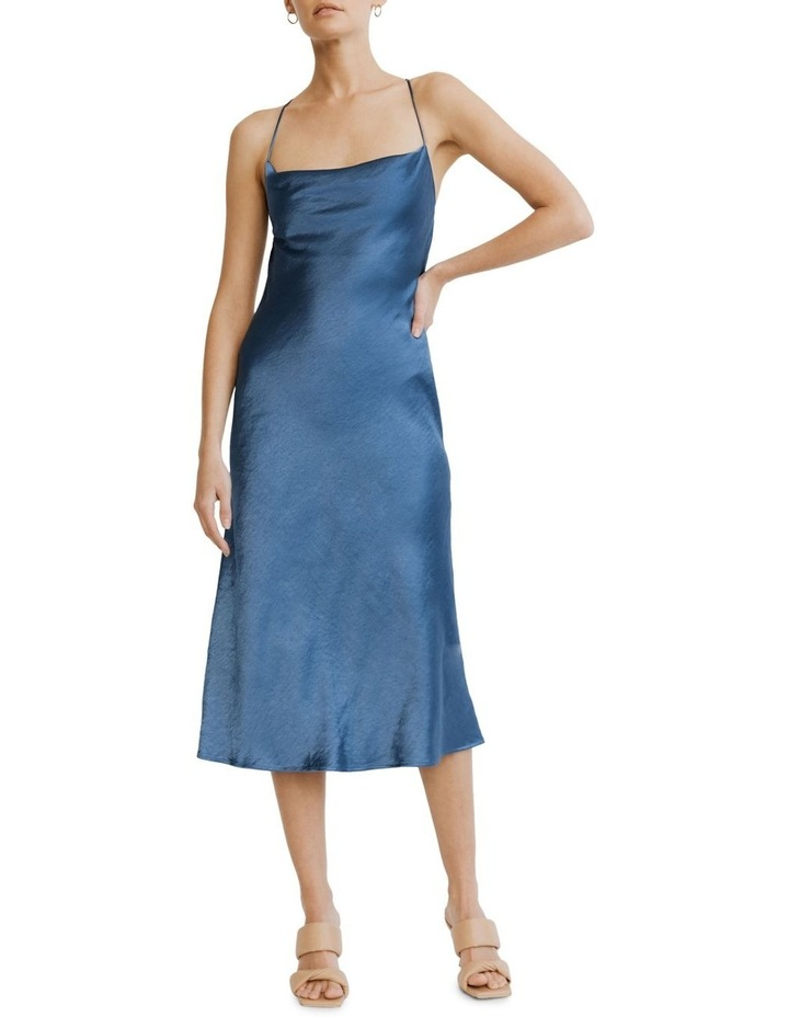 Cross Back Cowl Bias Slip Dress image 4