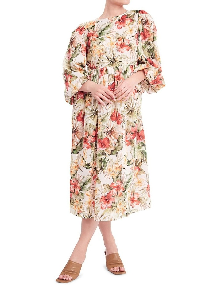 Siesta Cotton Midi Dress image 1