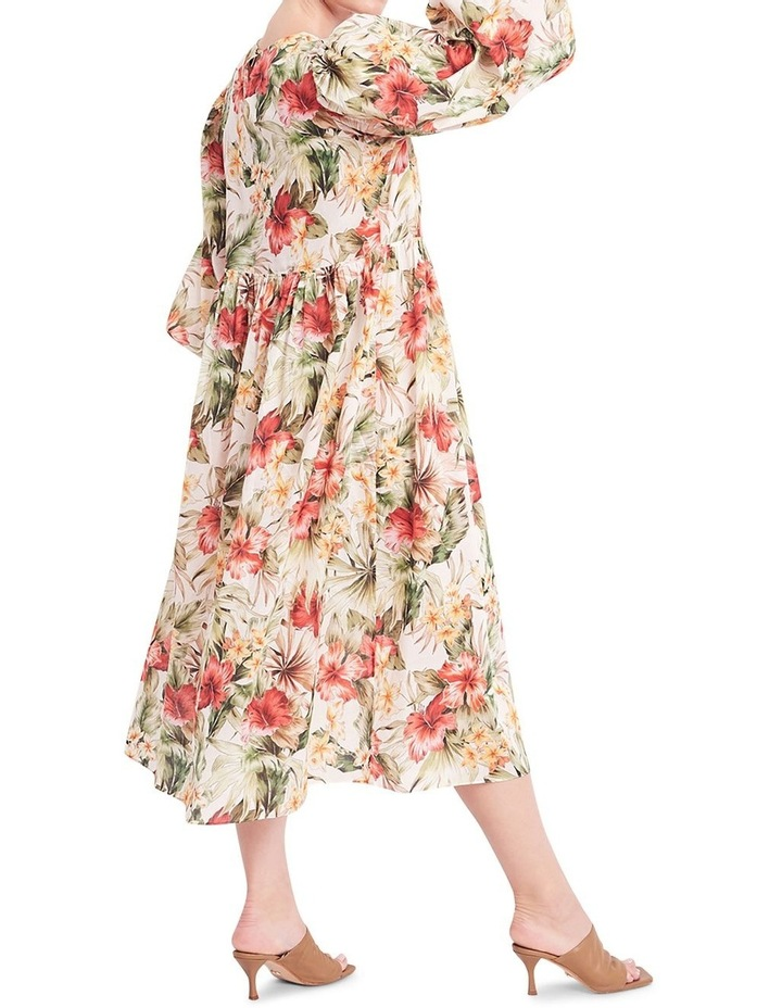 Siesta Cotton Midi Dress image 3
