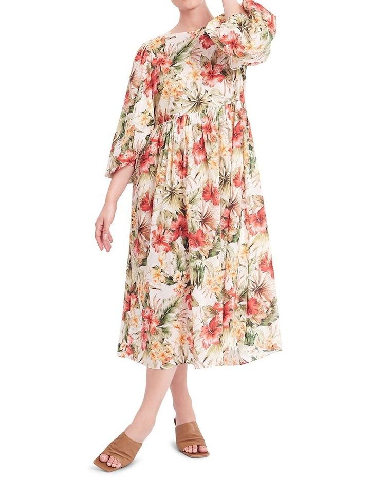 Siesta Cotton Midi Dress image 4
