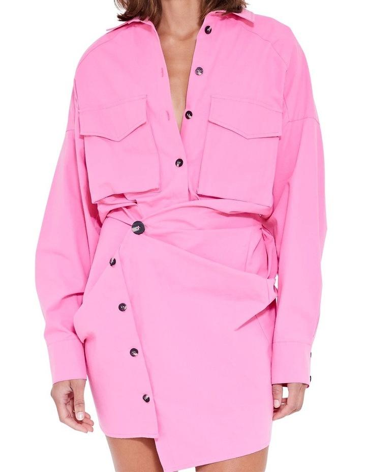 Forbes Mini Dress Ultra Pink image 4