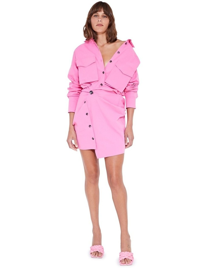 Forbes Mini Dress Ultra Pink image 7