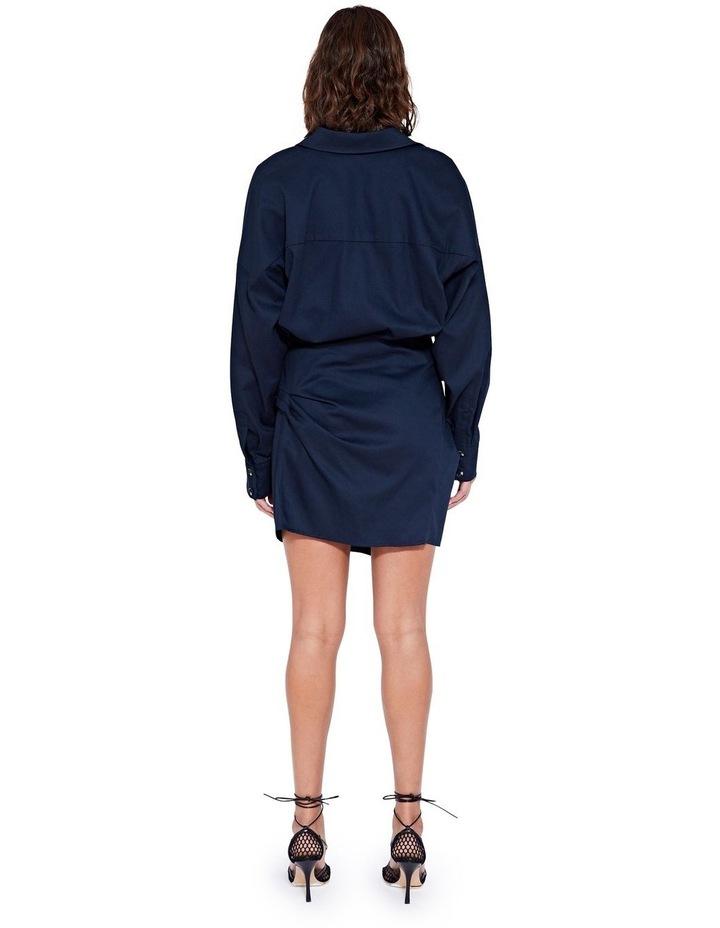 Forbes Mini Dress Indigo image 2