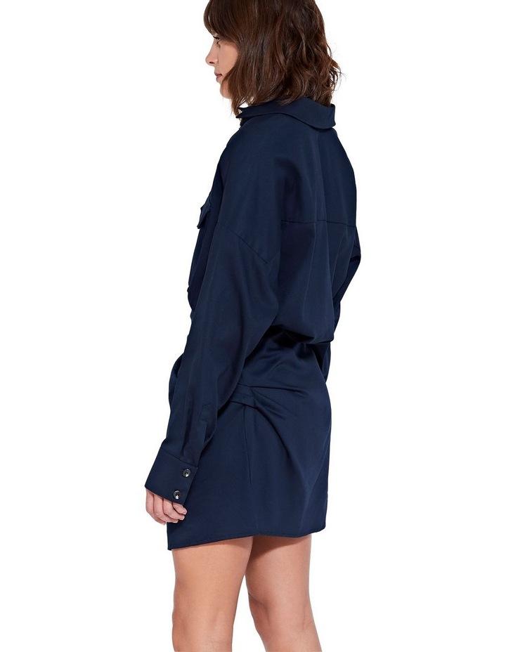 Forbes Mini Dress Indigo image 3