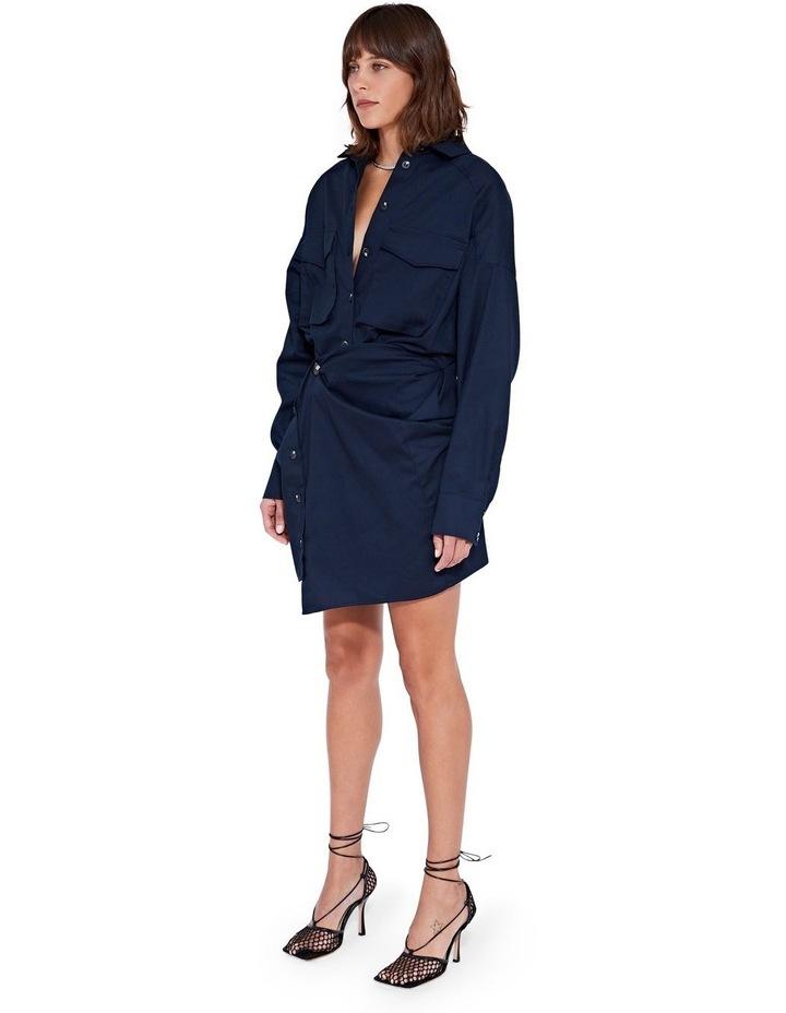 Forbes Mini Dress Indigo image 4
