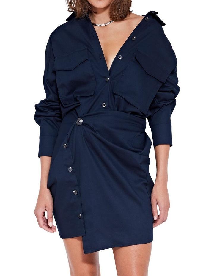 Forbes Mini Dress Indigo image 5