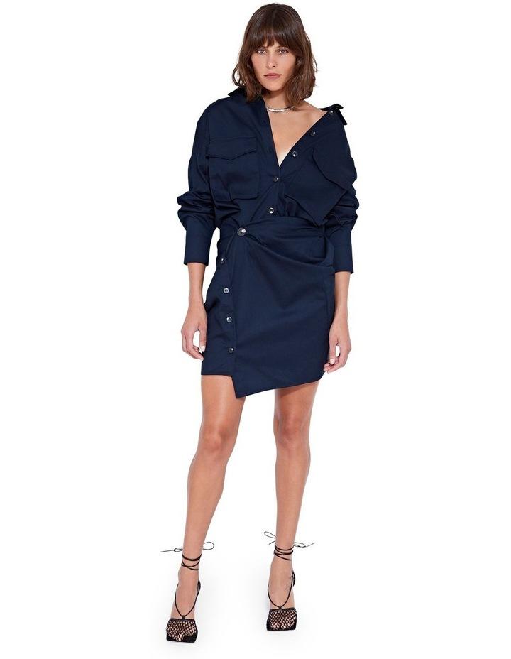 Forbes Mini Dress Indigo image 6