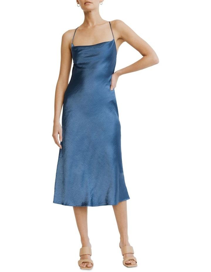 Cross Back Cowl Bias Slip Dress image 5