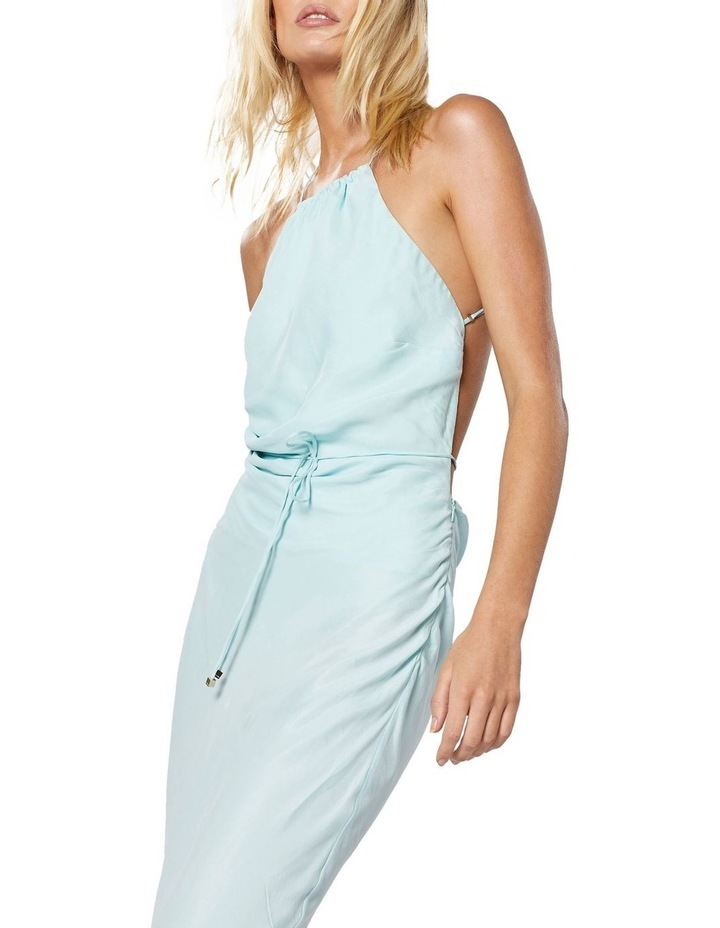 Azure Maxi Dress Aqua image 4