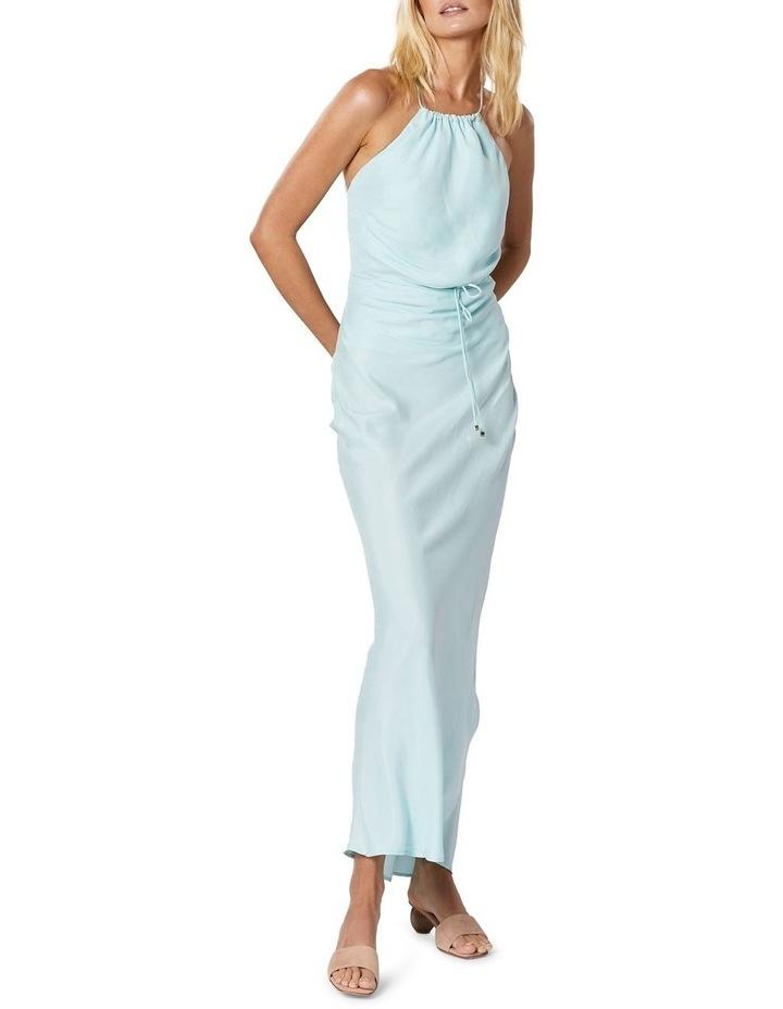 Azure Maxi Dress Aqua image 5
