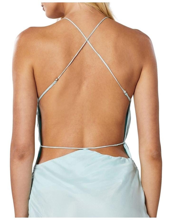Azure Maxi Dress Aqua image 6