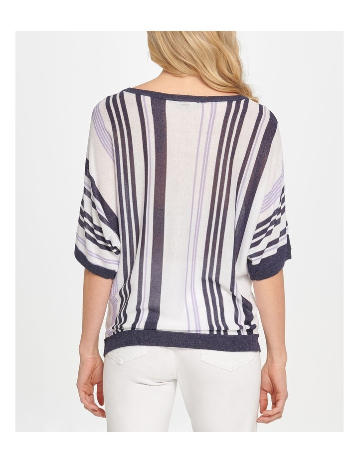 Elbow Sleeve Stripe Top image 3
