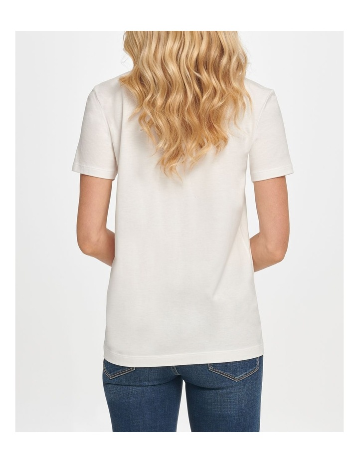 Embroidered Sequin Logo T-Shirt image 3