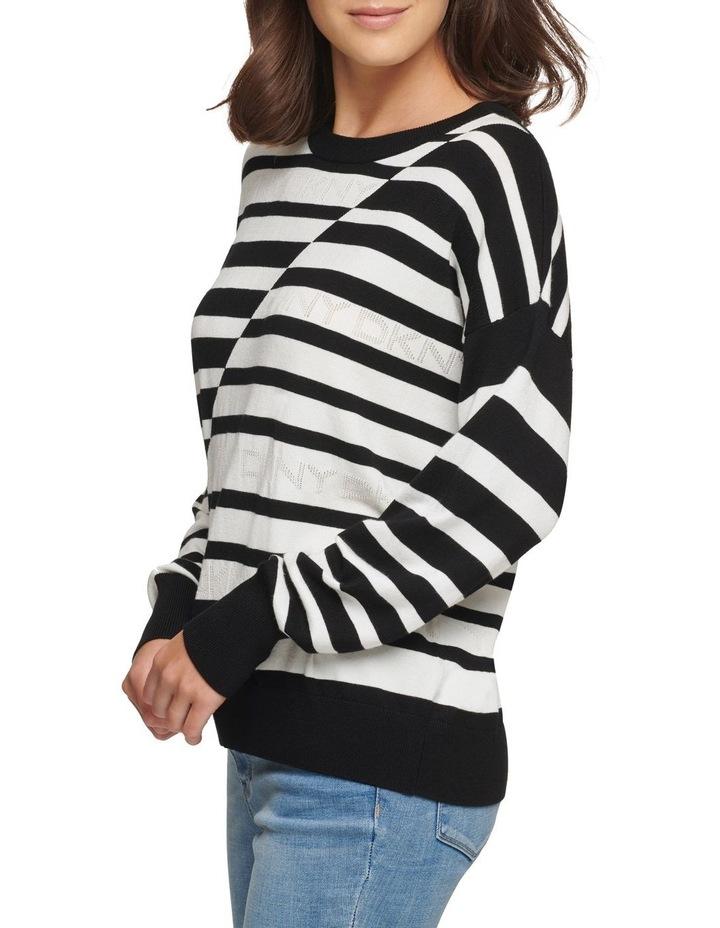Striped Logo Sweater image 4