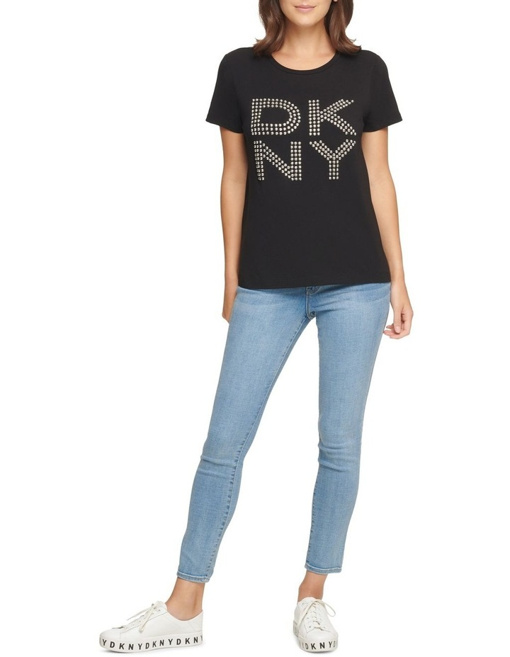 Dkny Stud Logo T-Shirt image 1