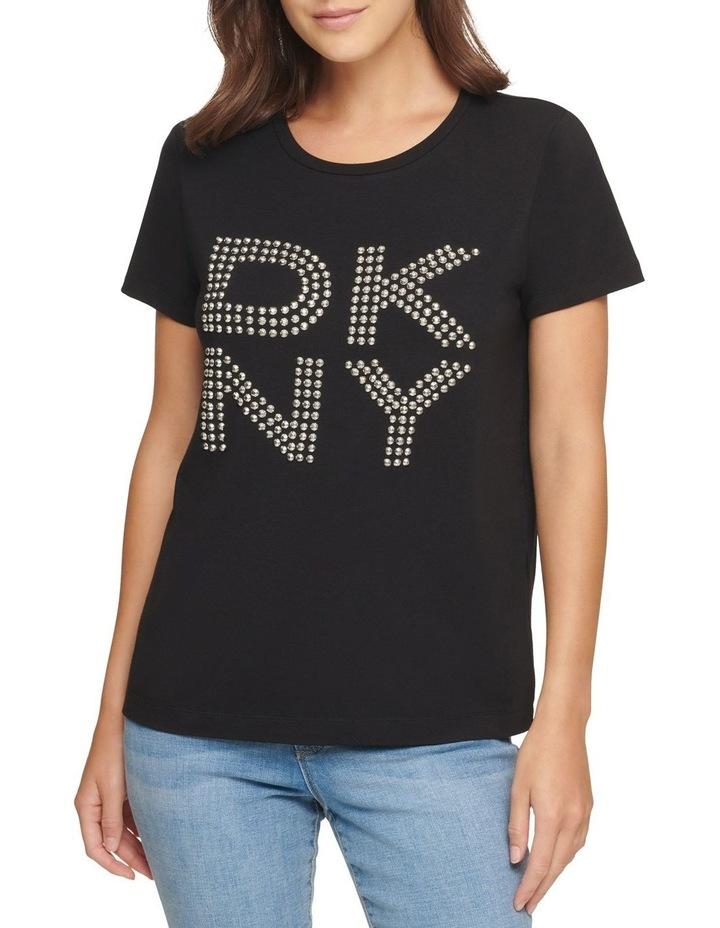 Dkny Stud Logo T-Shirt image 2