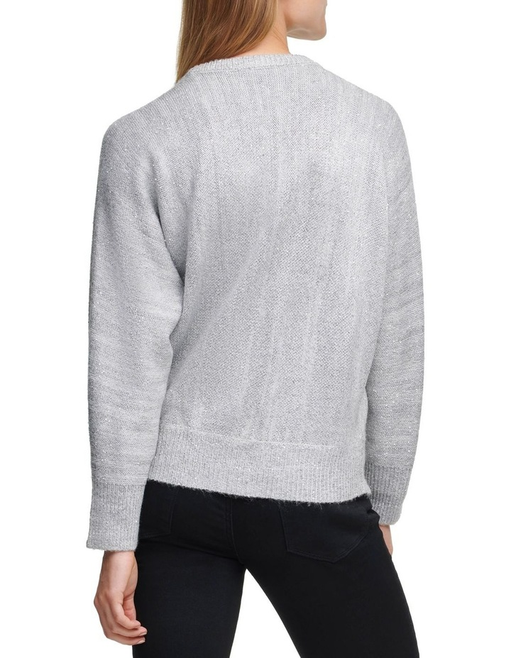 Crew Neck Sweater With Sequin Detail image 2