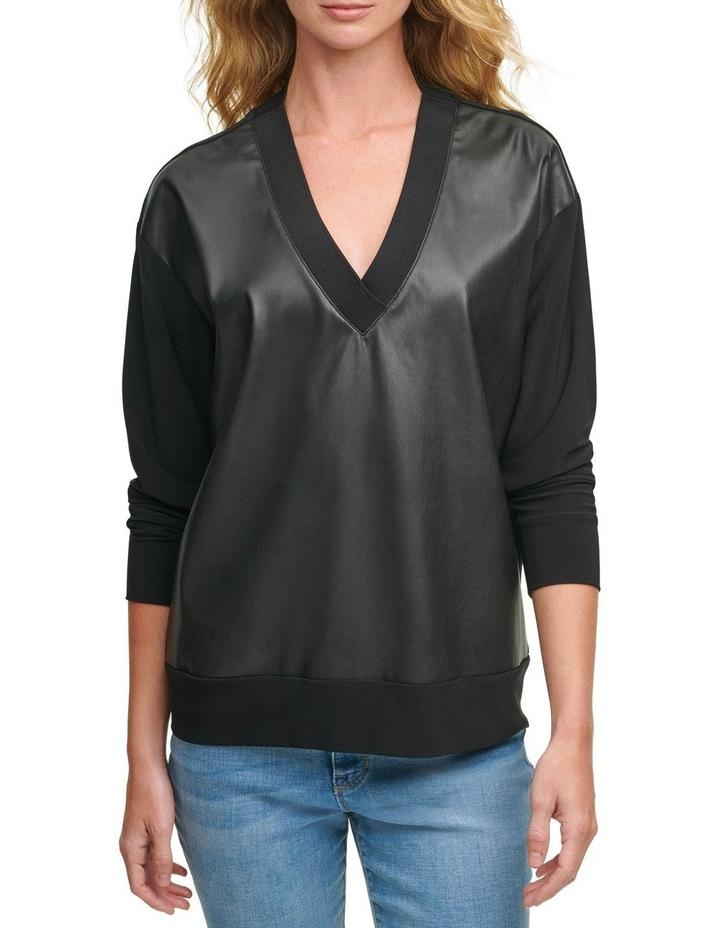 V-Neck Sweatshirt image 1