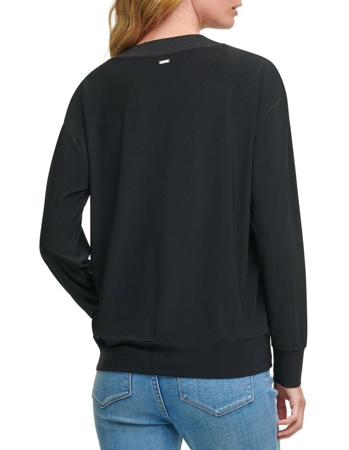 V-Neck Sweatshirt image 2