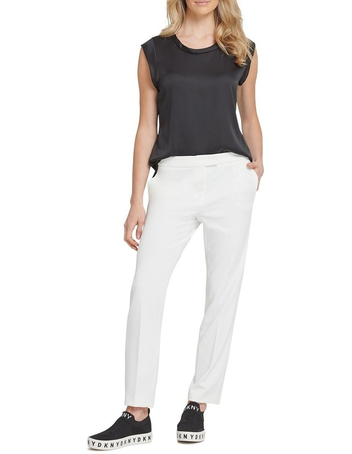 Front Tab Straight Pant image 1