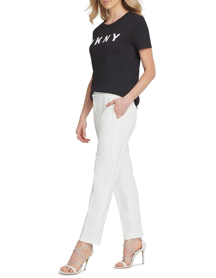 Front Tab Straight Pant image 3
