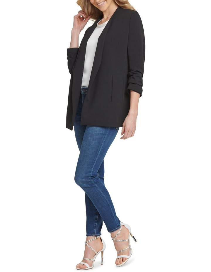 Long Sleeve Open Front Jacket image 1