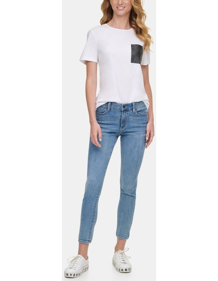 Foundation - High Rise Skinny Ankle Jean image 3